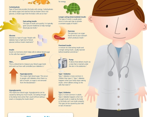 nfographic - Diabetes terms