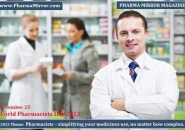 2013 World Pharmacists Day – 25 September