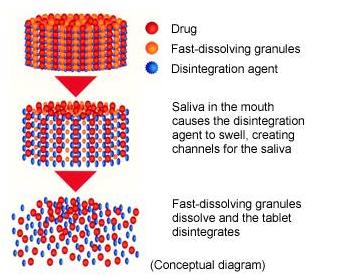 Fast dissolving tablets