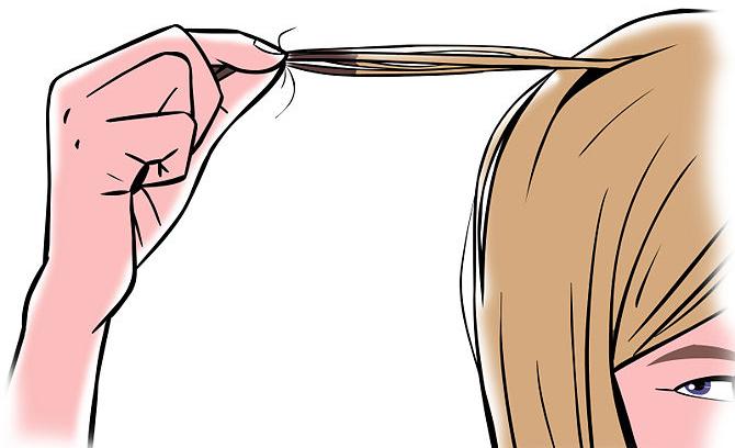 Hair strand drug testing