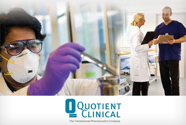 Quotient Clinical completes innovative first-in-human program