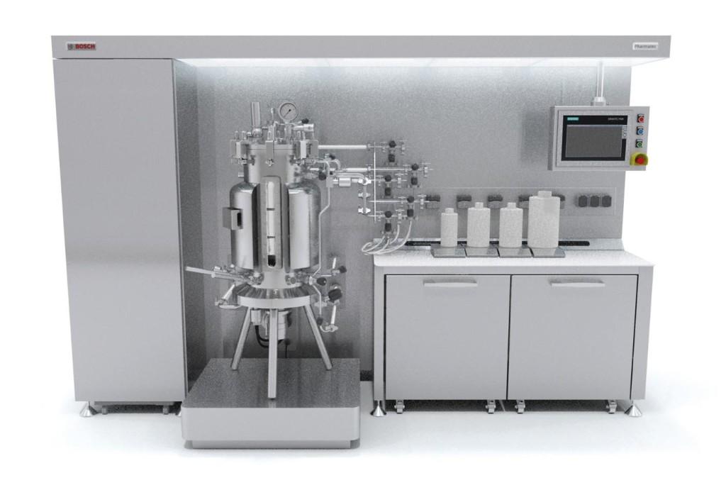 New bioreactor for laboratory-scale development of active ingredients