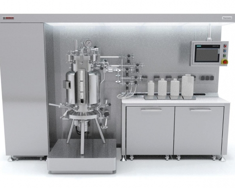 New bioreactor for laboratory-scale development of active ingredients