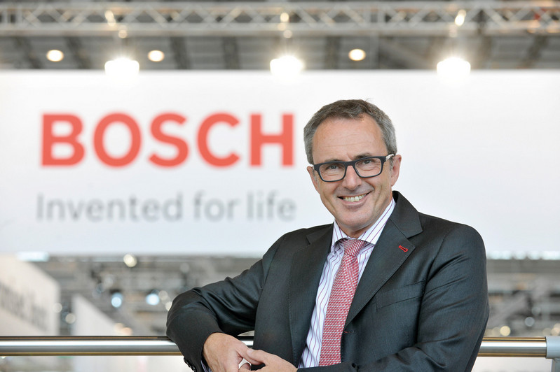 Friedbert Klefenz, president of Bosch Packaging Technology.