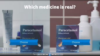 Health Care Professions Ask Consumers to Identify Fake Medicine