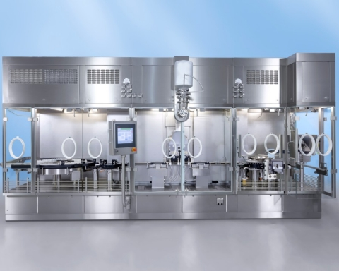Filling and closing machine from Bosch honored with Red Dot Award
