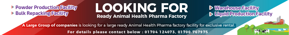 LOOKING FOR Ready Animal Health Pharma Factory
