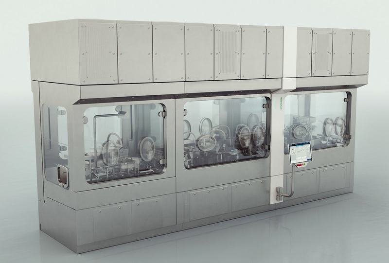 With the Flexible Filling Portfolio, Syntegon presents an individually configurable, modular machine concept for processing small and medium batches of liquid pharmaceuticals.