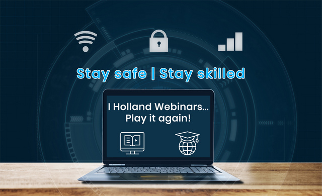 I Holland 'Play it Again' with Webinar Series