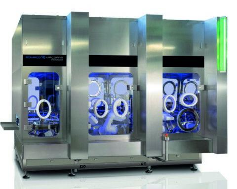 Romaco Macofar MicroRobot 50 microdosing machine