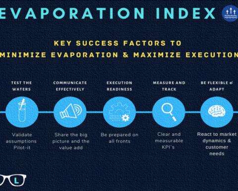 Key success Factors to Minimize Evaporation and Maximize Execution