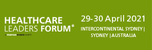 The Healthcare Leaders Forum Sydney 2021